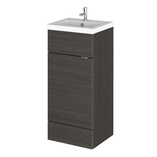 Elite Hacienda Black 400mm Vanity Unit & Basin (355mm Deep)